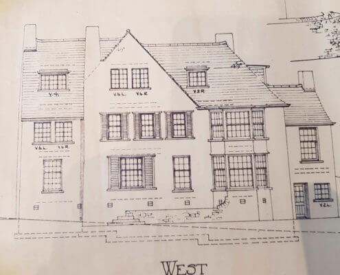 Radcliffe Surveyors. Building Plan of an old traditional house